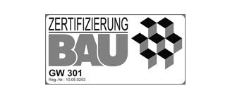 GW 301 Zertifizierung Bau